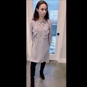 NWT BCBGMaxAzria gray soft tunic dress